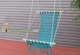 Гамак плетеный из веревки