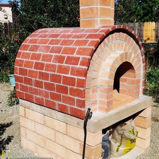 Печь для пиццы из кирпича своими руками чертежи и фото пошаговая инструкция