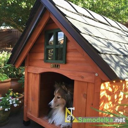 Будки для собак и домики для кошек - проекты