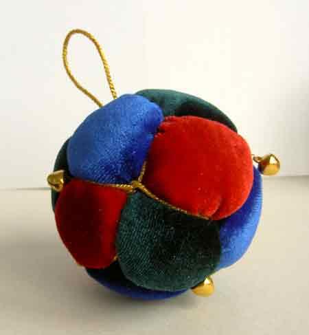 Как сделать елочный шарик