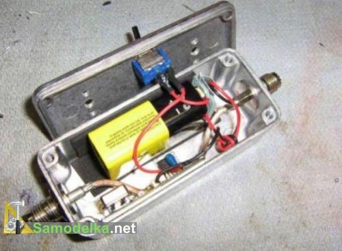 Батарейки на 9В и регулятора