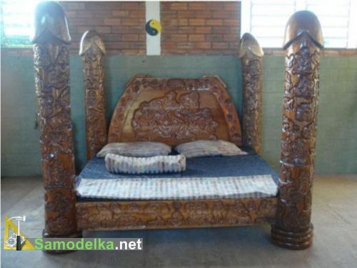 самодельные кровати фото