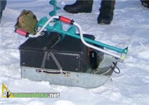 Как сделать ящик для зимней рыбалки