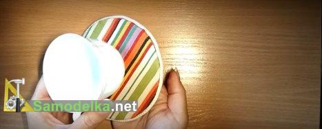 Подставка под чашки из старых комакт-дисков