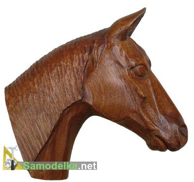 Как вырезать голову лошади из дерева