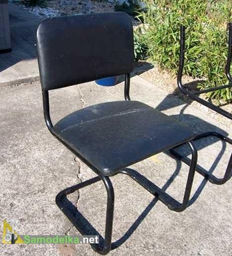 переделываем стул в скамейку