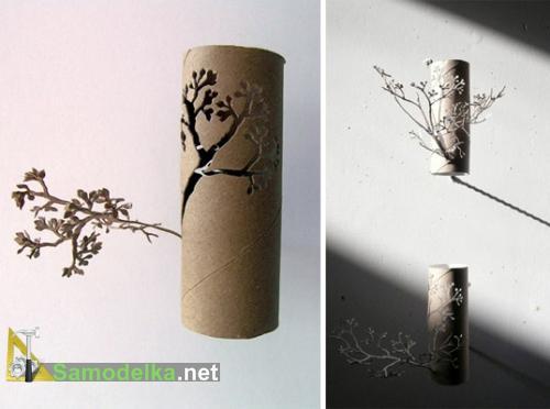 Самодельный китайский бумажный сад из бумаги