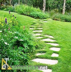 Садовые дорожки своими руками фото 1