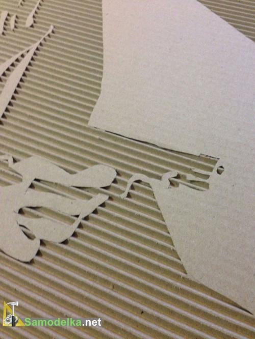 картины из картона своими руками как сделать