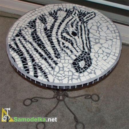 столешница из мозаики своими руками