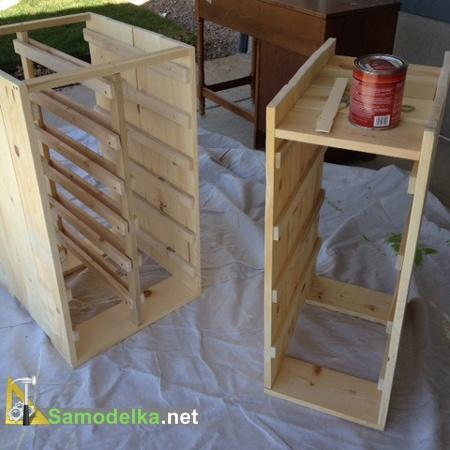 стол для мастерской своими руками - покраска