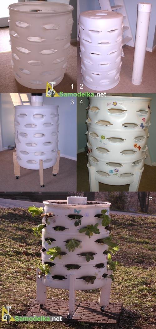 выращивание помидоров в бочке изготовление