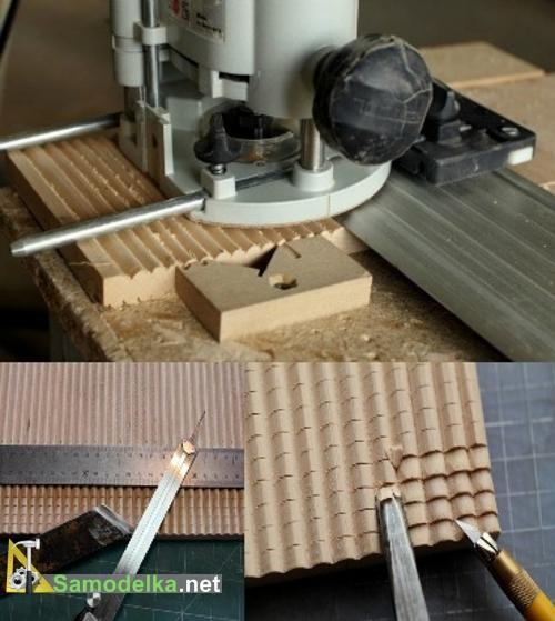 Как сделать настенную ключницу своими руками - крыша