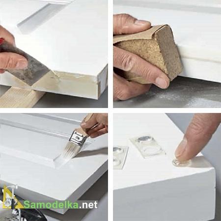 готовим детали для простого стола