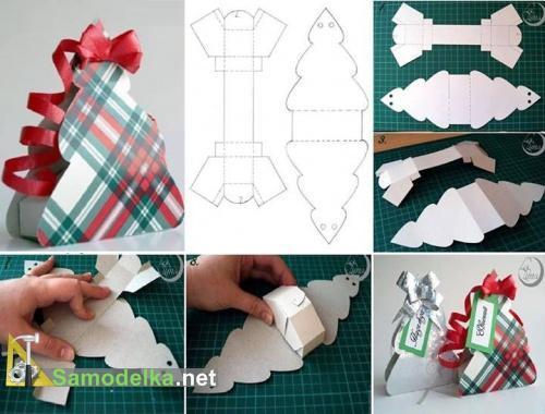 подарочная упаковка своими руками схемы 3