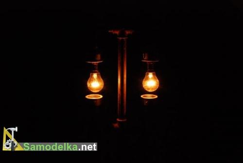 лампа в стиле стимпанк Steampunk