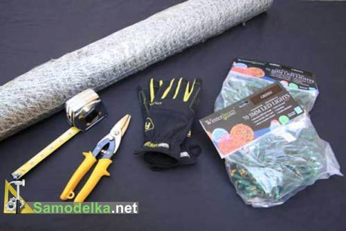 материалы и инструменты для светящихся шаров