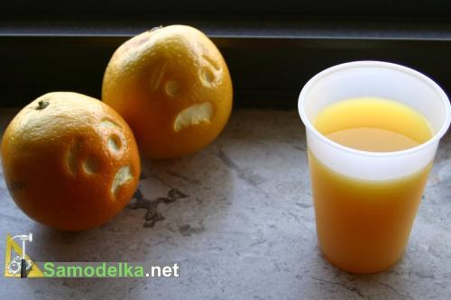 веселые апельсины  - сценка
