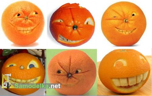 Поделка из апельсина в детский сад 12