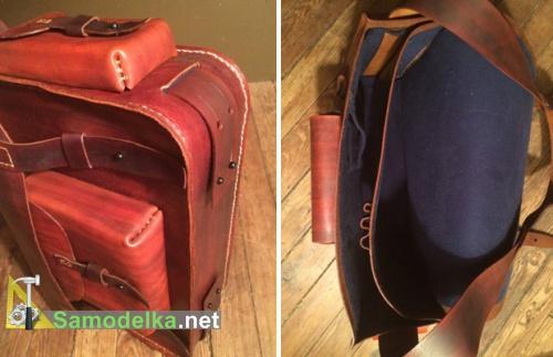 внешний вид самодельной сумки