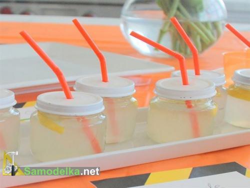 поделки из баночек из под детского питания - мини контейнеры для спиртного