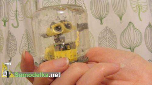 поделки из баночек из под детского питания - колбочки для миниатюр