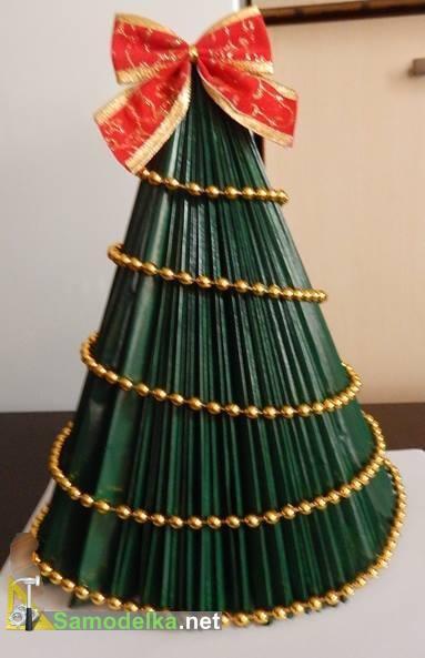 зеленая елка из журнала