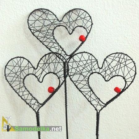 двойные сердечки