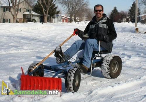 Сделать своими руками снегоуборочную машину фото