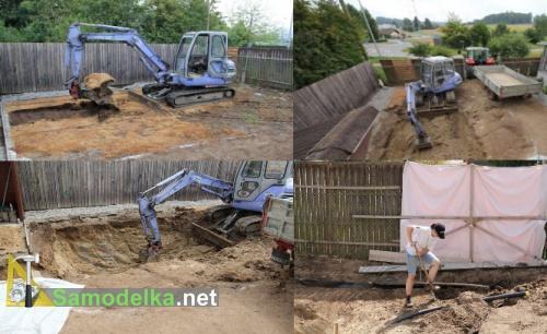 Дачный пруд своими руками  копаем котлован