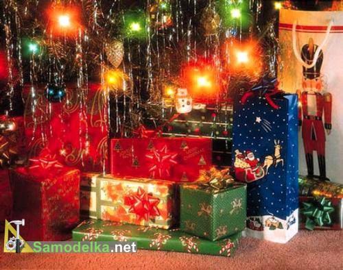 Выбираем подарки к новому году - подсказка