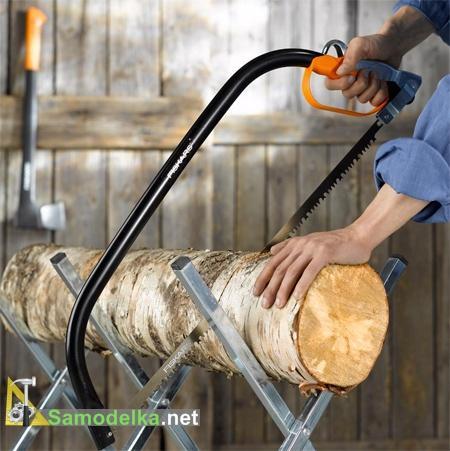 Как выбрать ручную пилу по дереву - лучковая пила