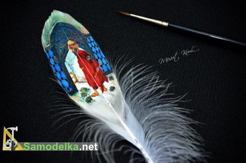 картина на пере