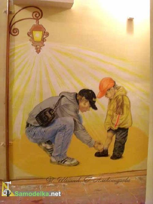 как украсить подъезд часть 2 сосед с сыном