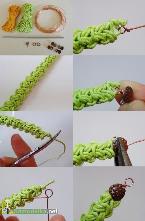 Крючка для вязания браслетов 40