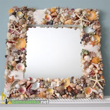 поделки из морских ракушек фото