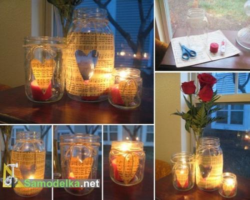 быстрый подарок и украшение для романтического вечера