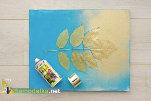 декоративные картины своими руками основной слой краски