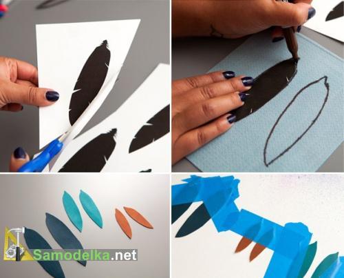 как сделать серьги из кожи своими руками подготавливаем