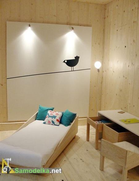 фанерная мебель для подростков