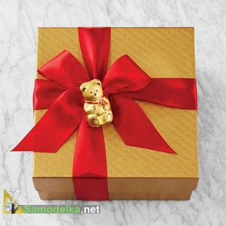 как оформить подарок на новый год своими руками