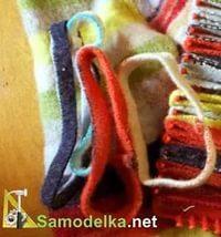 прихватка из старого свитера