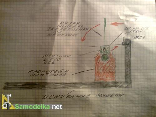 схема утинного ящика вид сбоку