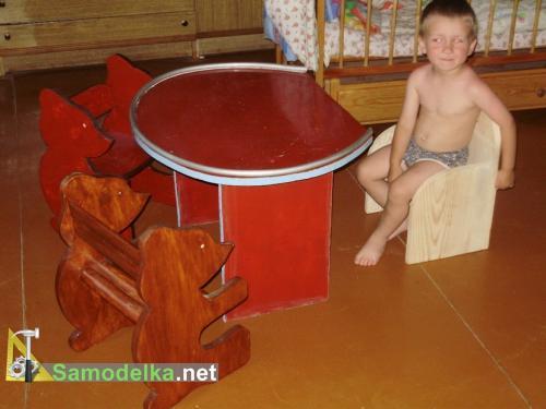 Своими руками сделать детский стульчик