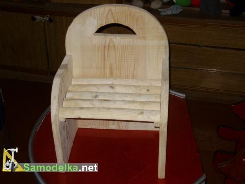 Как своими руками сделать детский стульчик и столик