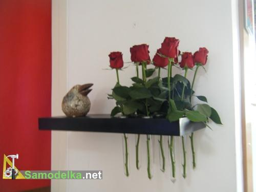 как сделать Полочку-вазу
