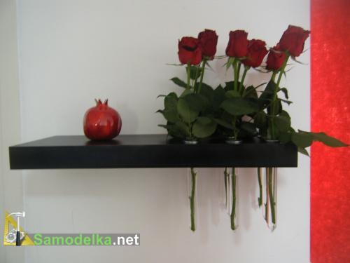 Полочка-ваза
