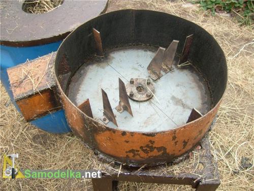 Как сделать сенорезку из стиральной