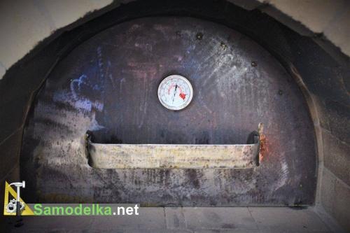 Рабочая дверь печи