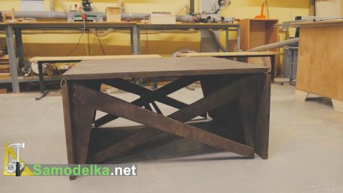 Складной стол своими руками из фанеры